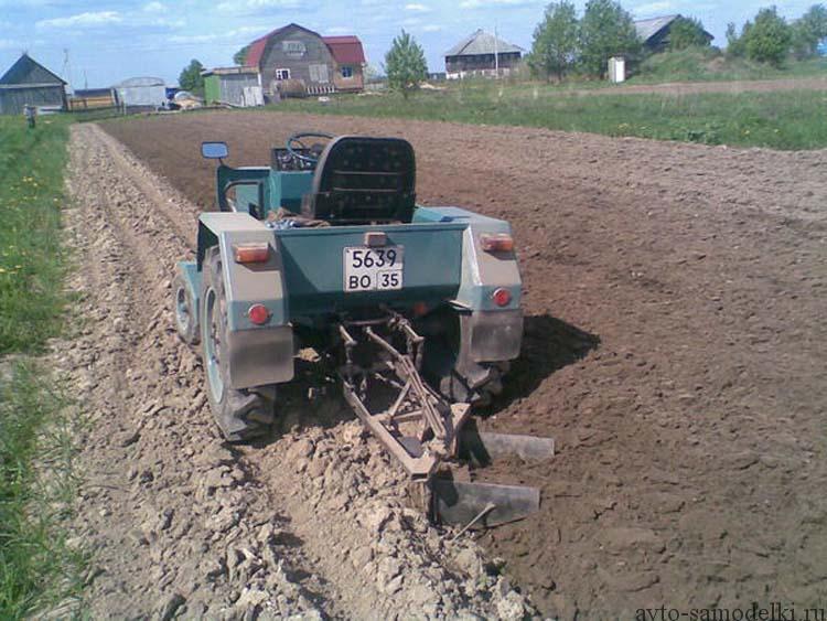 трактор заз