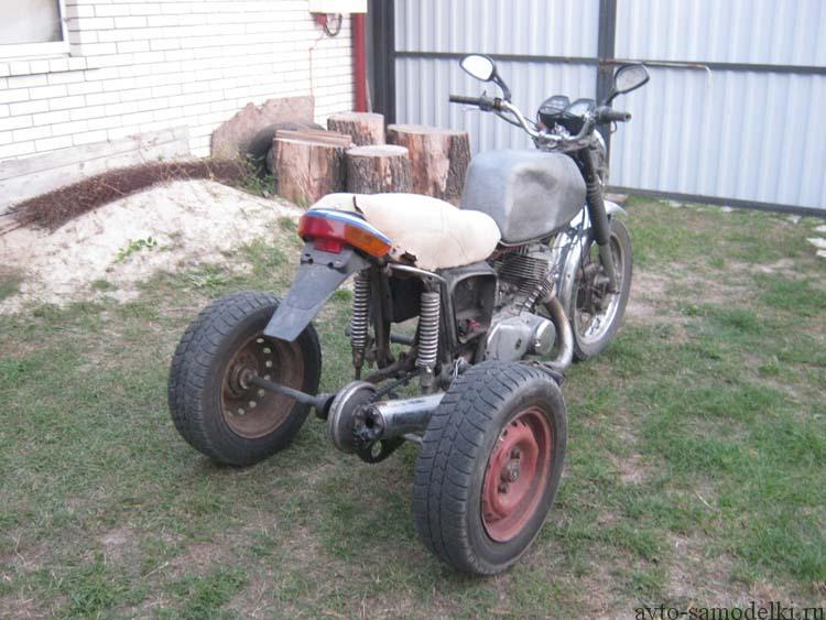 трицикл из мотоцикла иж