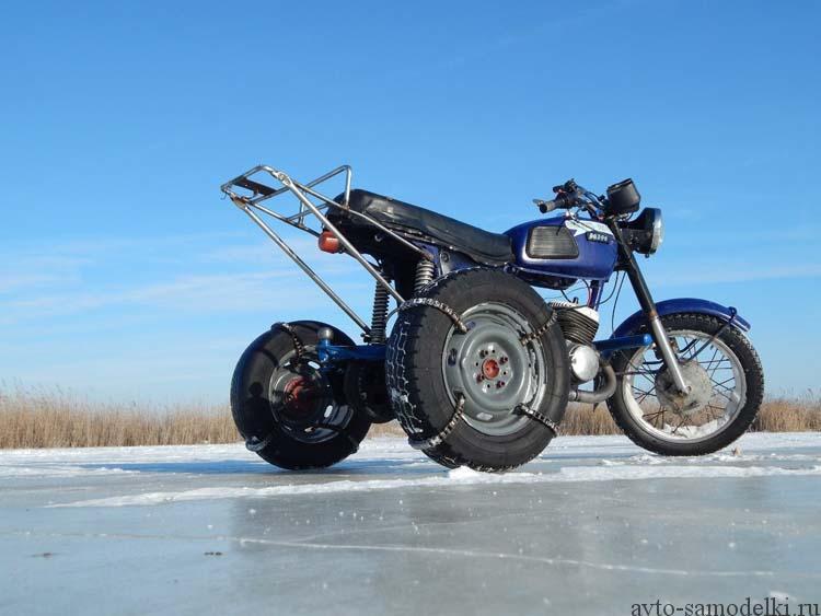 самодельный трицикл из иж юпитер