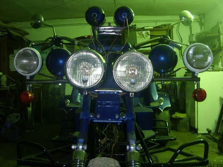 трайк на базе мотоцикла днепр