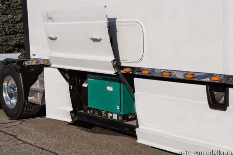 удобная кабина грузовика