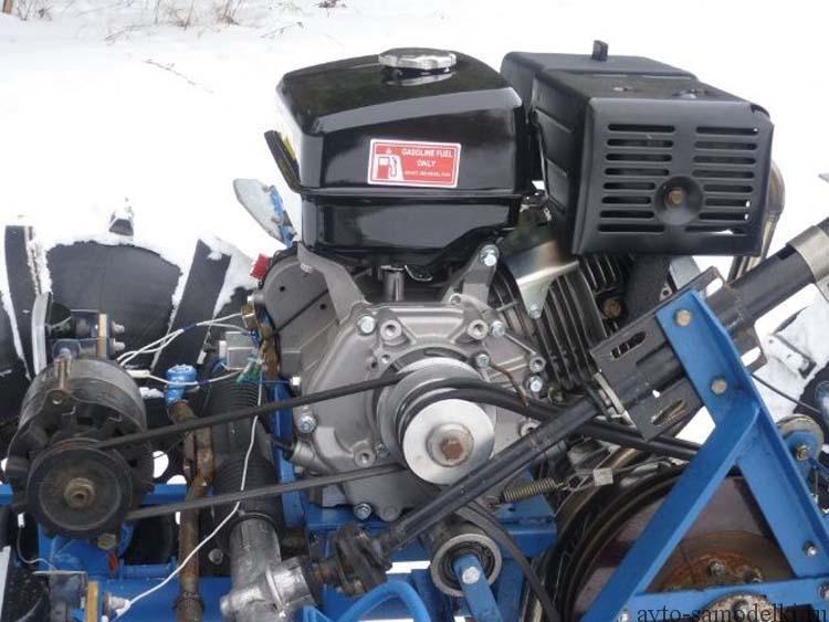 двигатель от мотоблока на вездеход