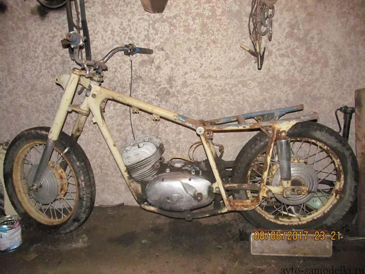 Восстановление мотоцикла ИЖ Юпитер