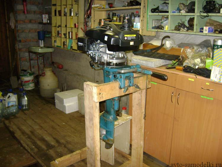 ремонт лодочного мотора ветерок