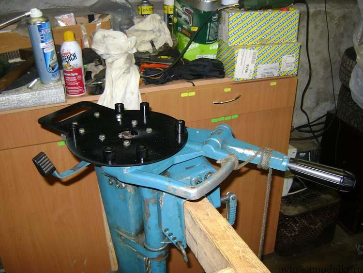 переоборудование и ремонт лодочного мотора