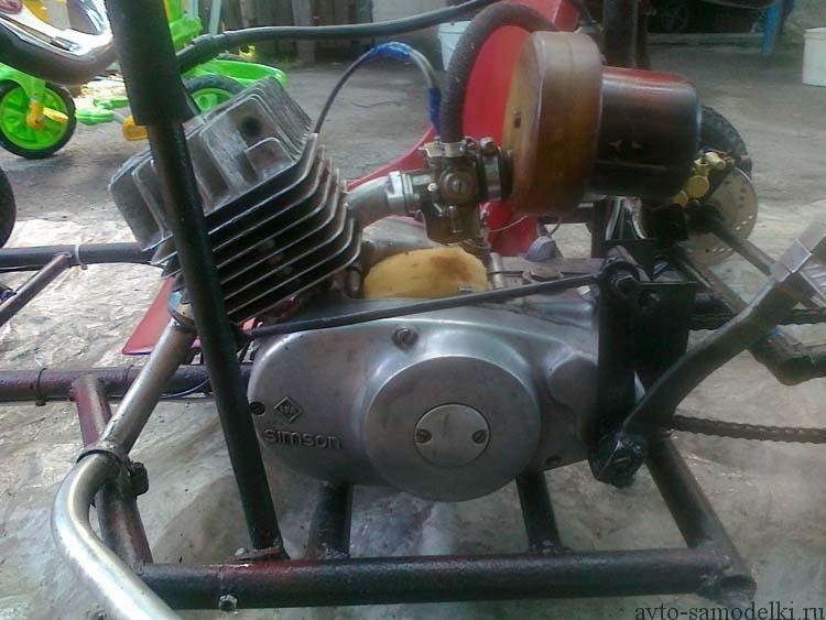 двигатель симсон