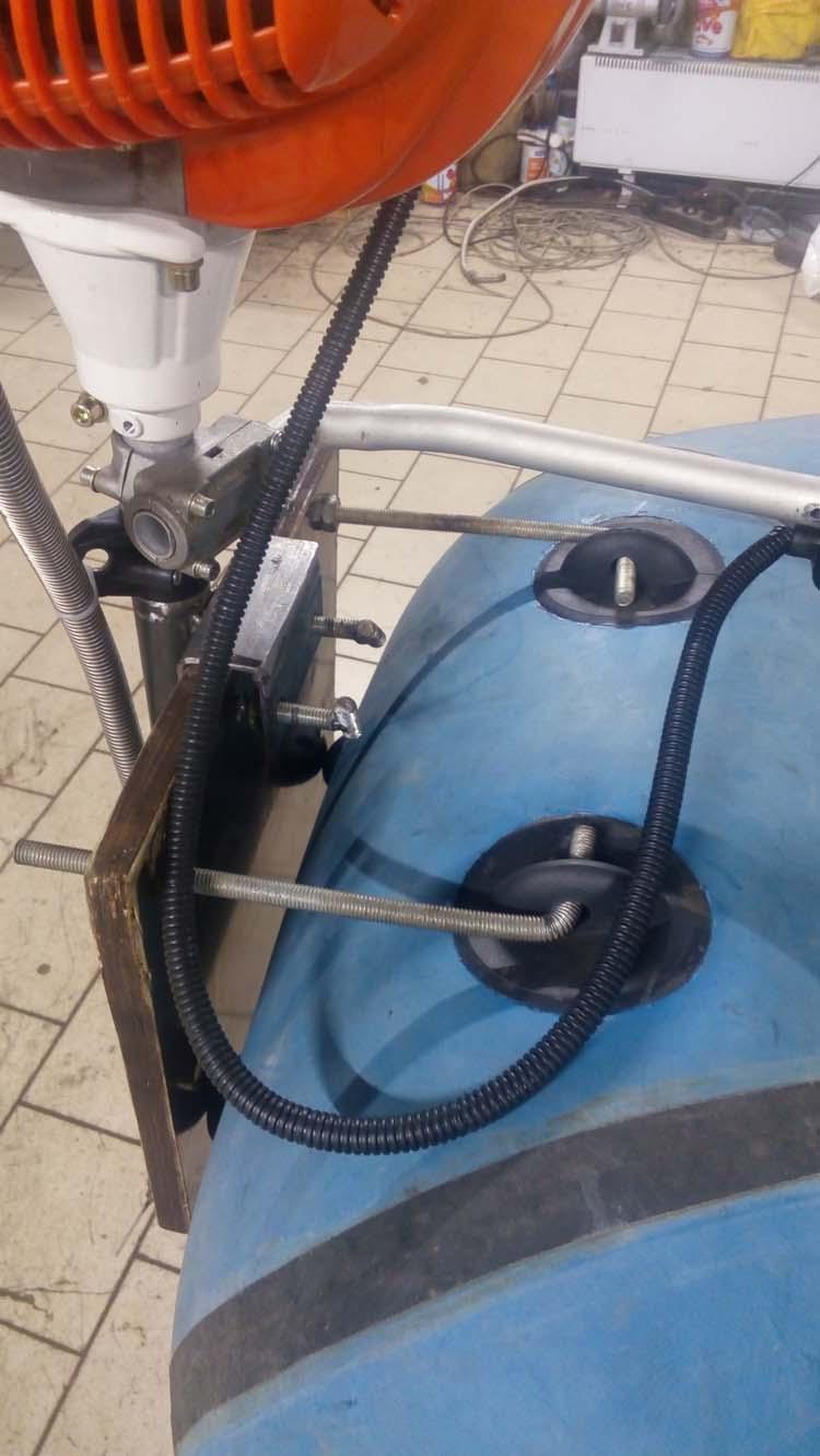 Лодочный мотор из газонокосилки своими руками 94