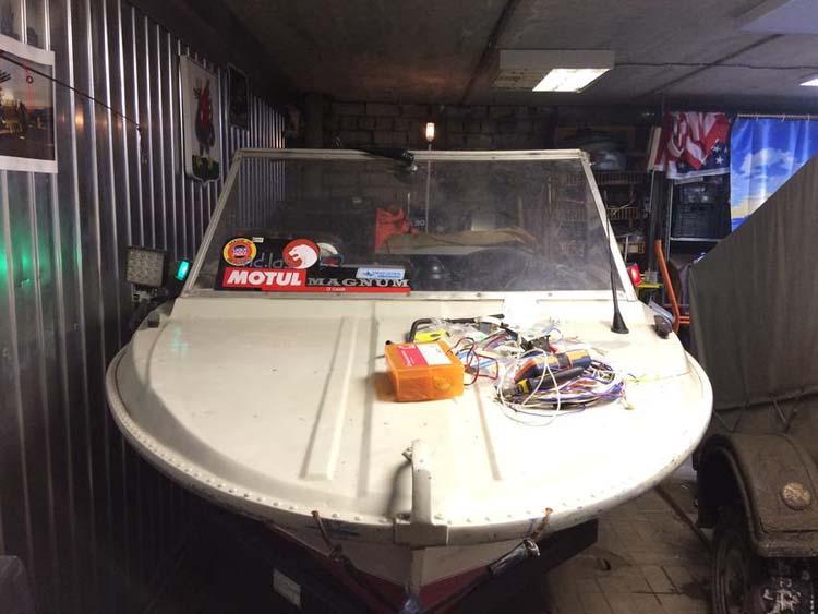 лодка казанка тюнинг