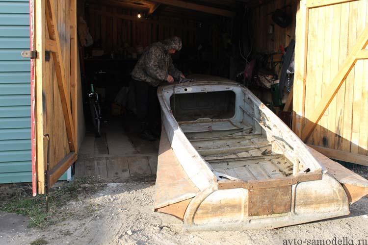 ремонтирую лодку