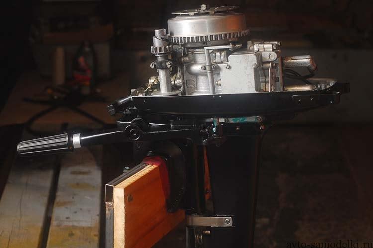 ремонт мотора ветерок 8 своими руками