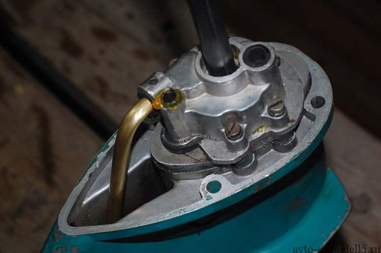 ремонт редуктора лодочного мотора