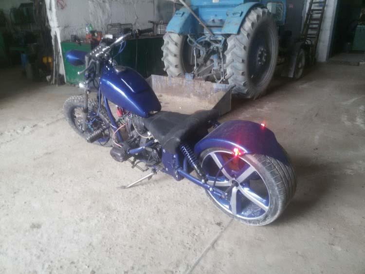 мотоцикл своими руками