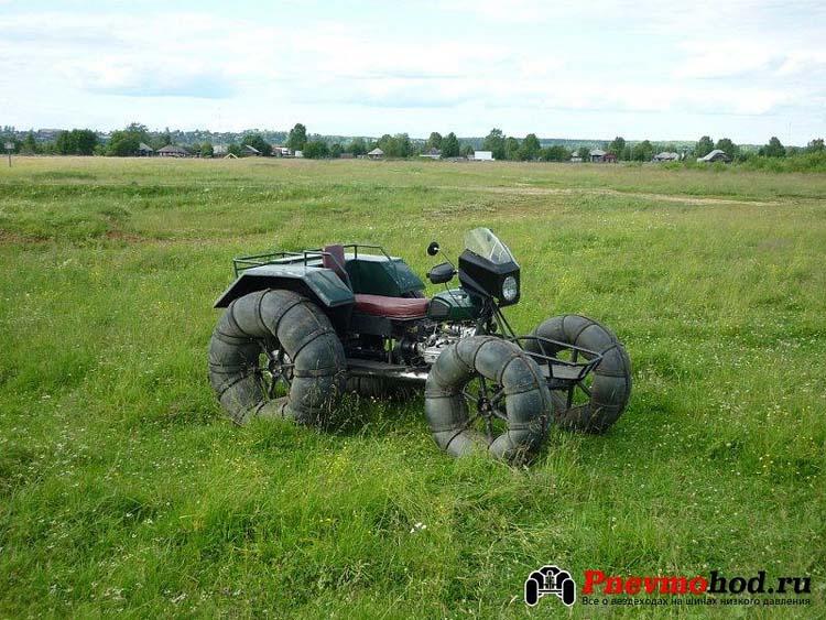 вездеход пневматик из мотоцикла
