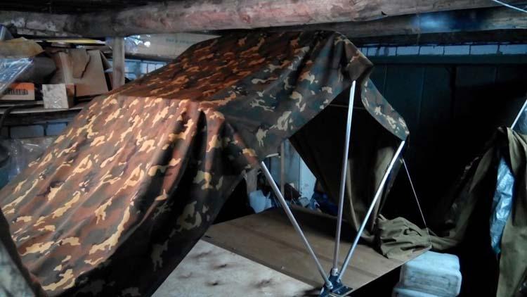 Автопалатка на крышу автомобиля своими руками