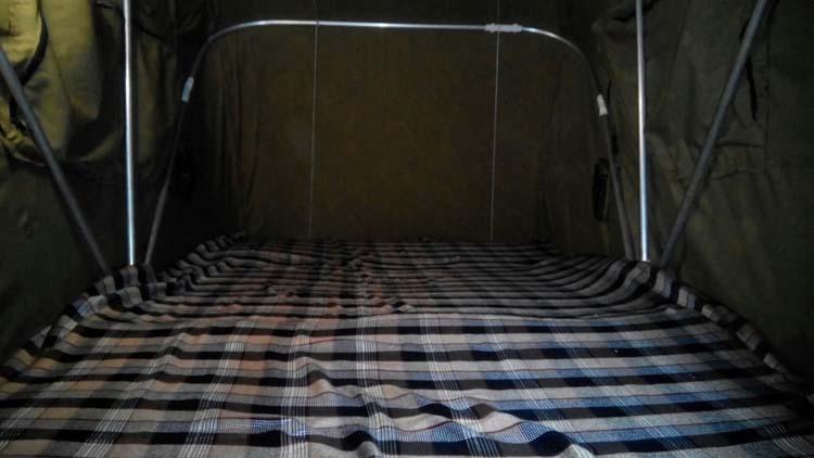 самодельная палатка на автомобиль