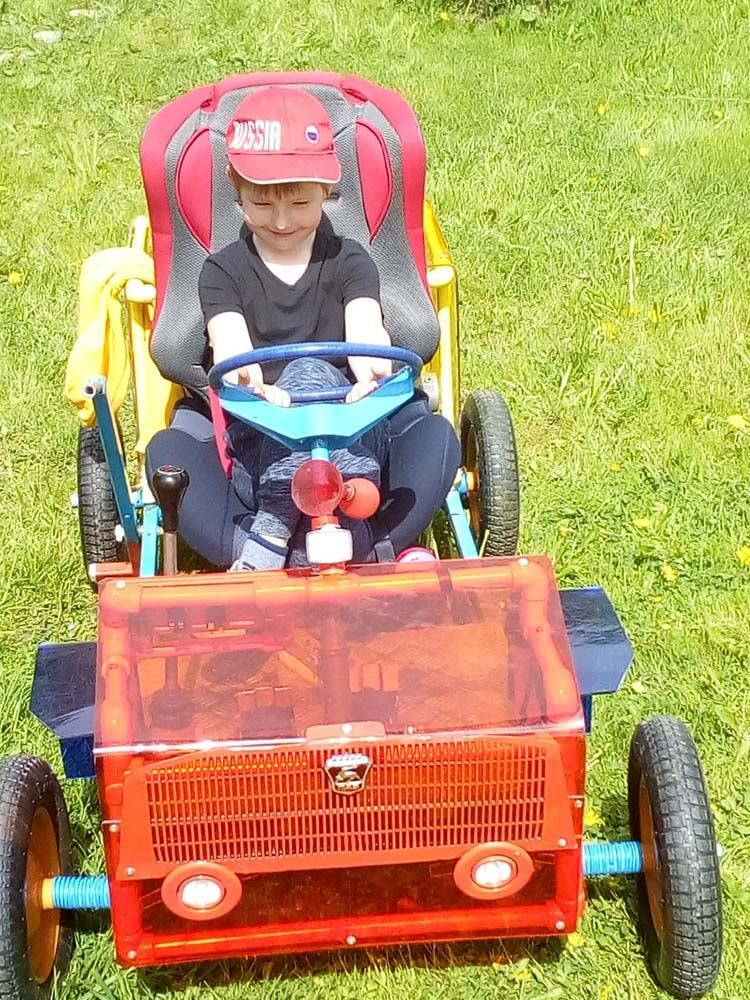 детский автомобиль своими руками