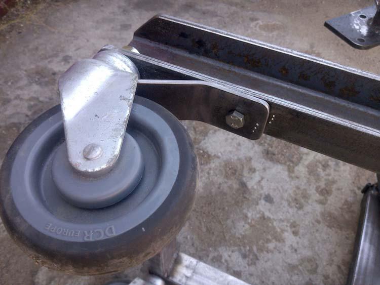 stend dvigatelya 10 - Стойка для ремонта двигателя своими руками