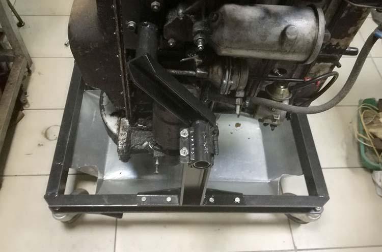 stend dvigatelya 12 - Стойка для ремонта двигателя своими руками