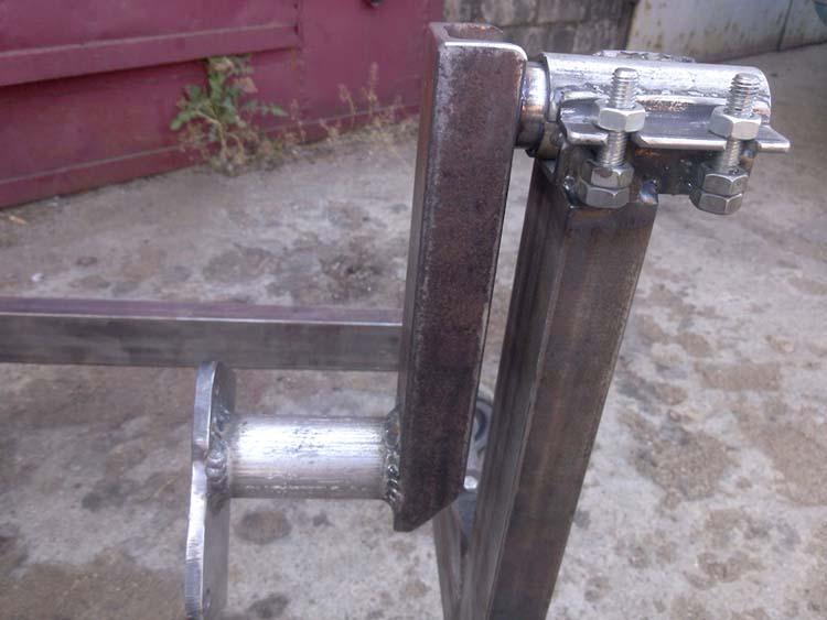 stend dvigatelya 6 - Стойка для ремонта двигателя своими руками