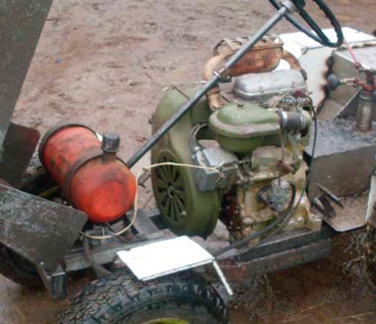 двигатель минитрактора