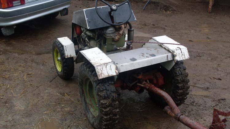 мини трактор из мотоблока