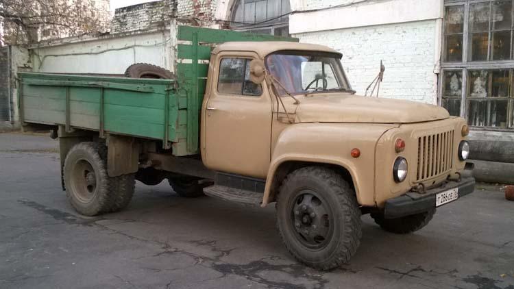 реставрация ГАЗ-53