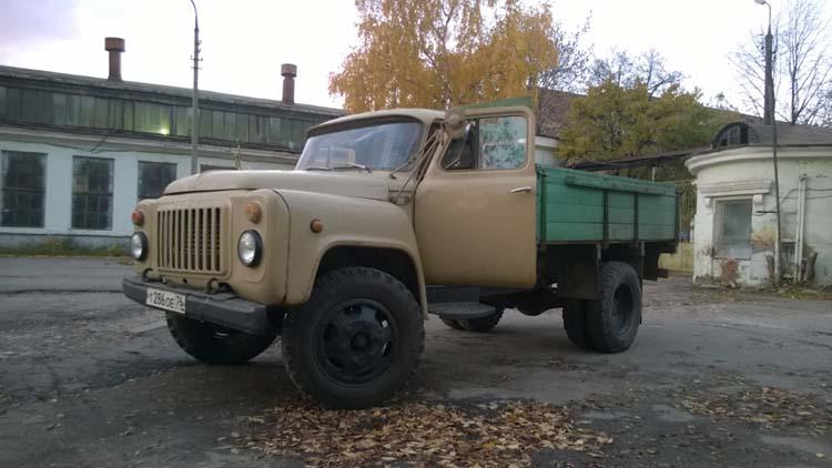 ГАЗ-53 восстановление автомобиля