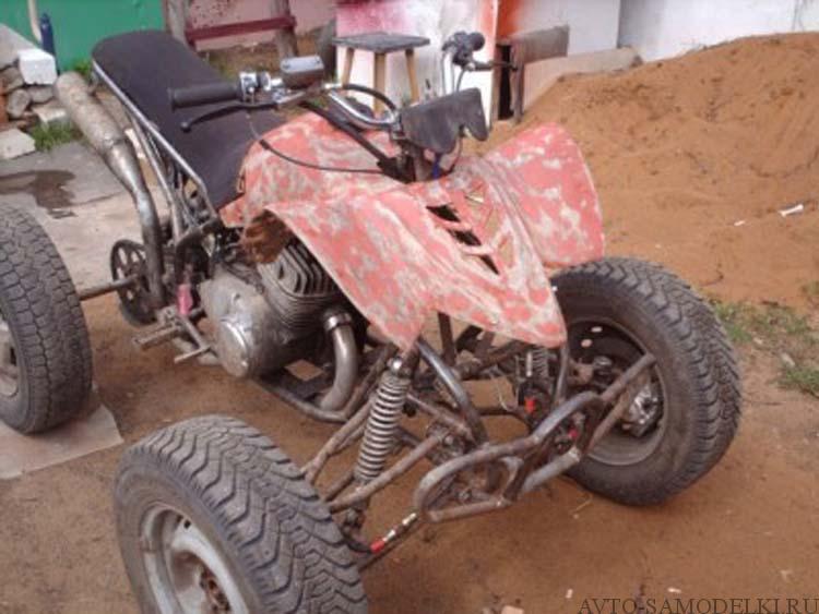 квадроцикл из мотоцикла иж