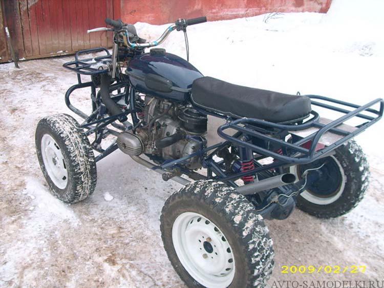 самоделка из мотоцикла Урал