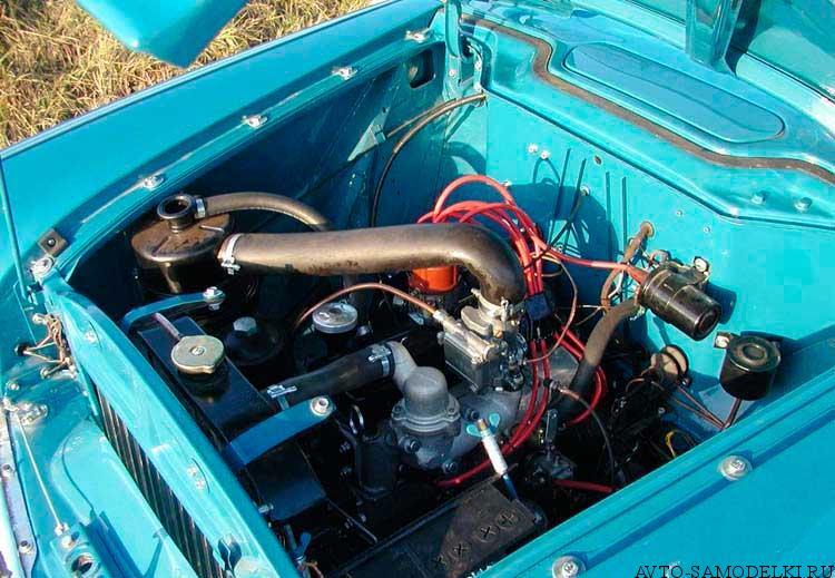 двигатель Москвич 407