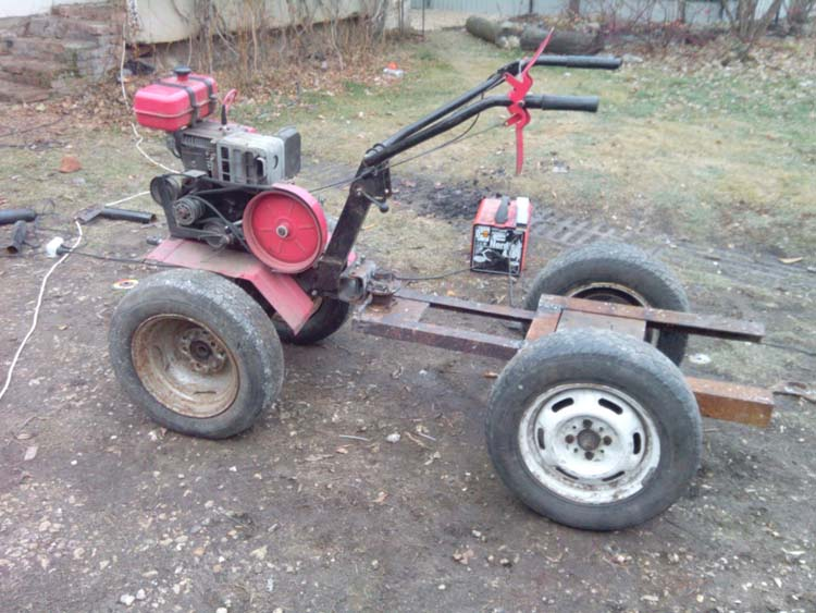 трактор из мотоблока