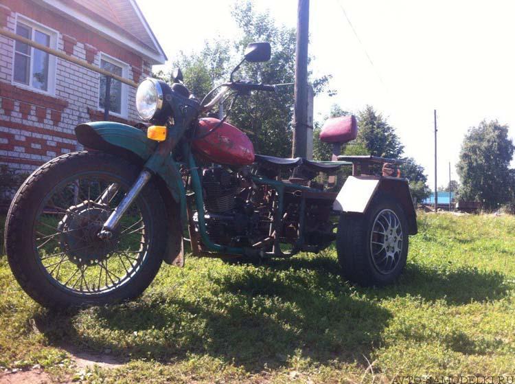 трицикл самоделка