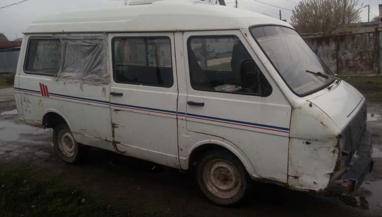 ремонт автомобиля РАФ-2203