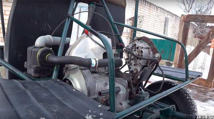 двигатель смз