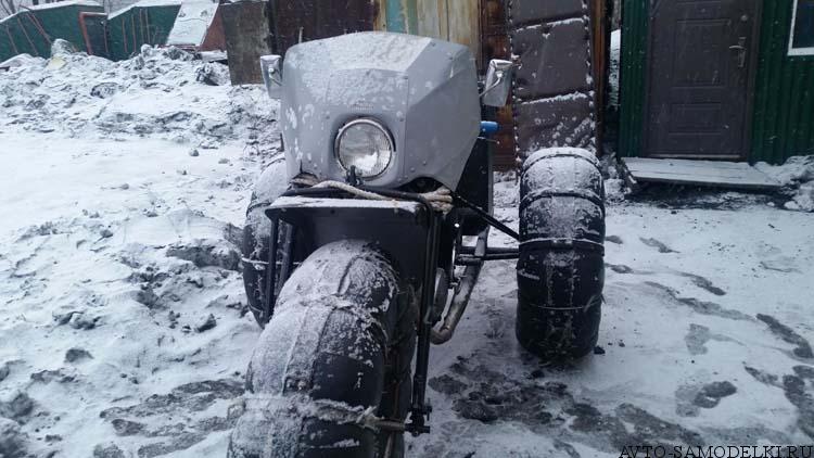 Каракат из мотоцикла Иж Планета 3