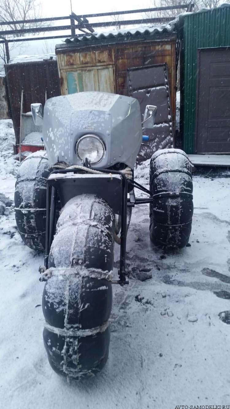самодельный Каракат из мотоцикла Иж