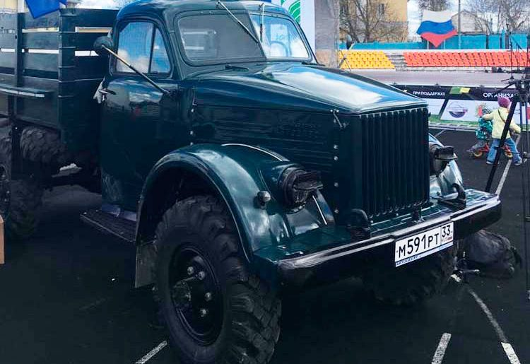 автомобиль ГАЗ-63