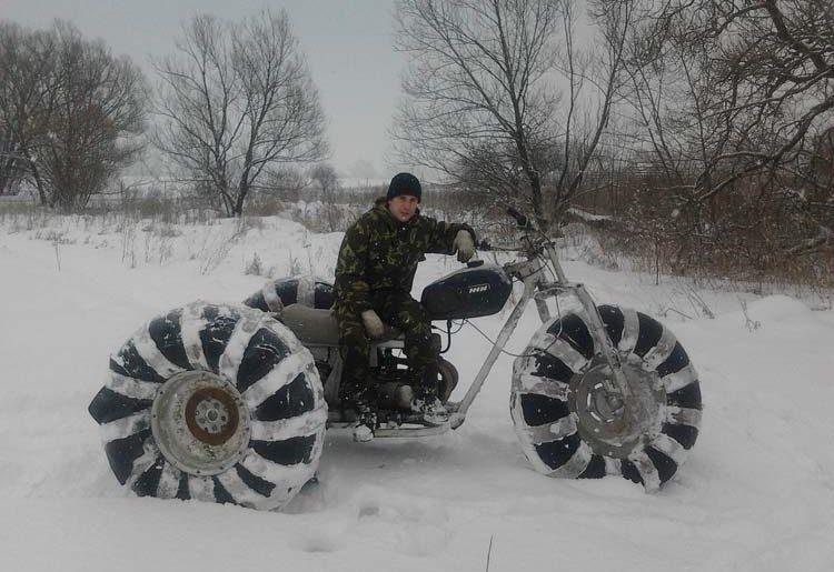 снегоболотоход