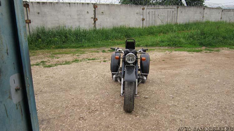 трицикл из мотоцикла Днепр
