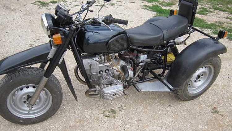 трицикл из Днепра
