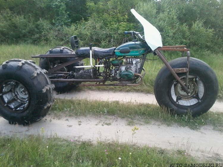 вездеход из мотоцикла