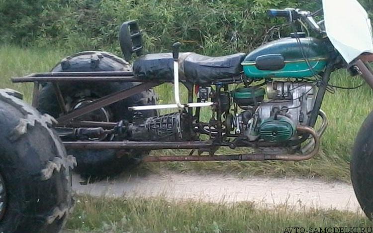 вездеход из мотоцикла Урал