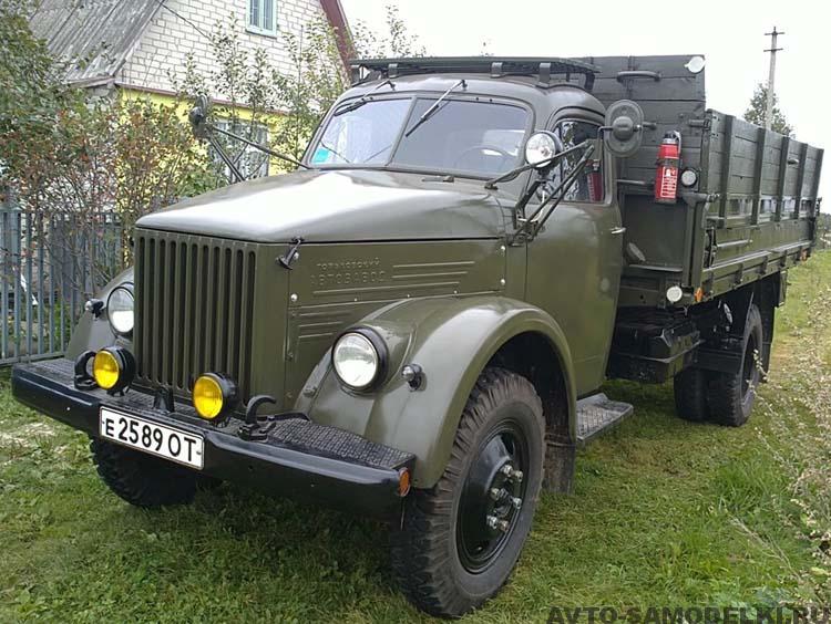 восстановление ГАЗ-51