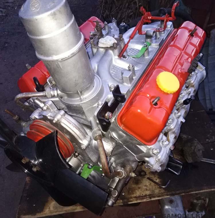 двигатель газона