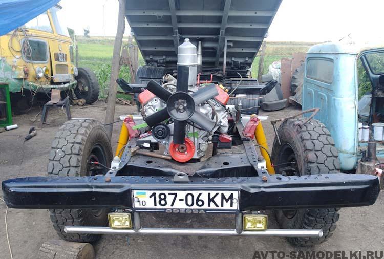 восстанавливаю ГАЗ-53