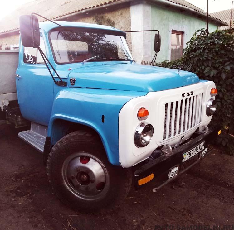 восстановление ГАЗ 53