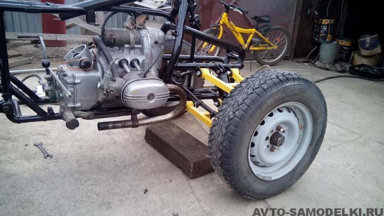 двигатель Урал на квадроцикл