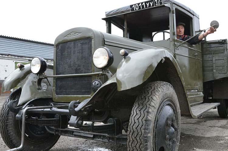 реставрация автомобиля ЗИС