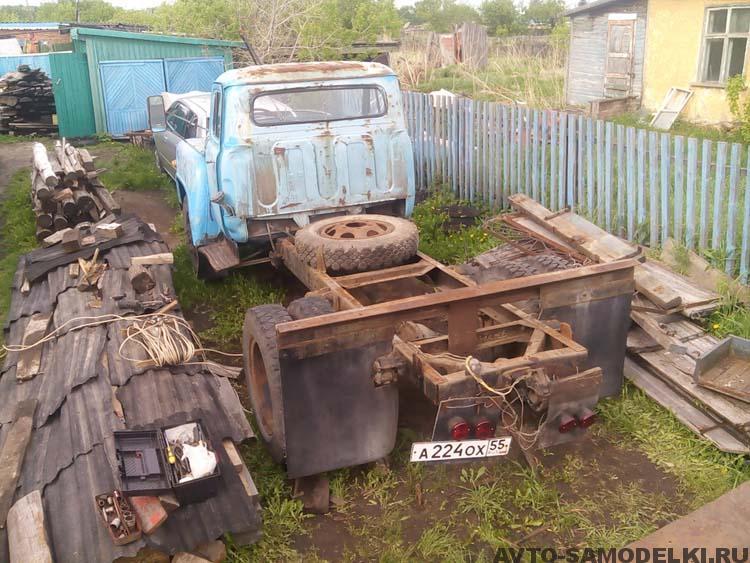 восстановил ГАЗ 52