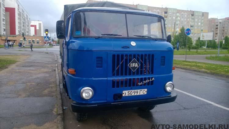 восстановили грузовик IFA W50